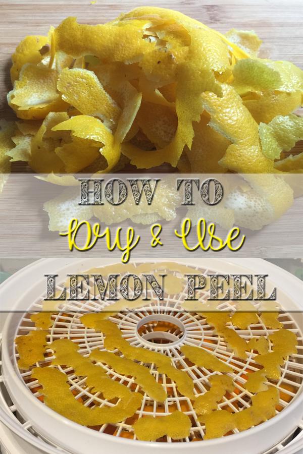 How to Dry and Use Lemon Peel 5Dog.Farm