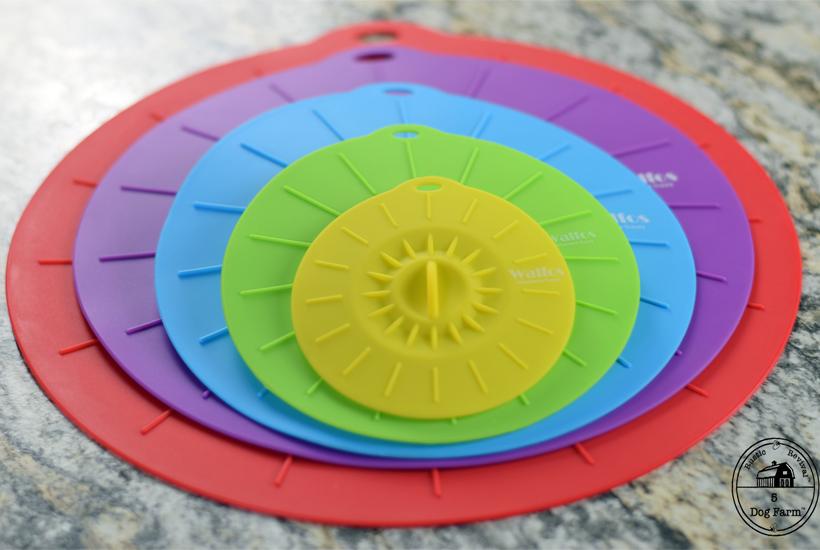 rainbow silicone lid covers 5DogFarm