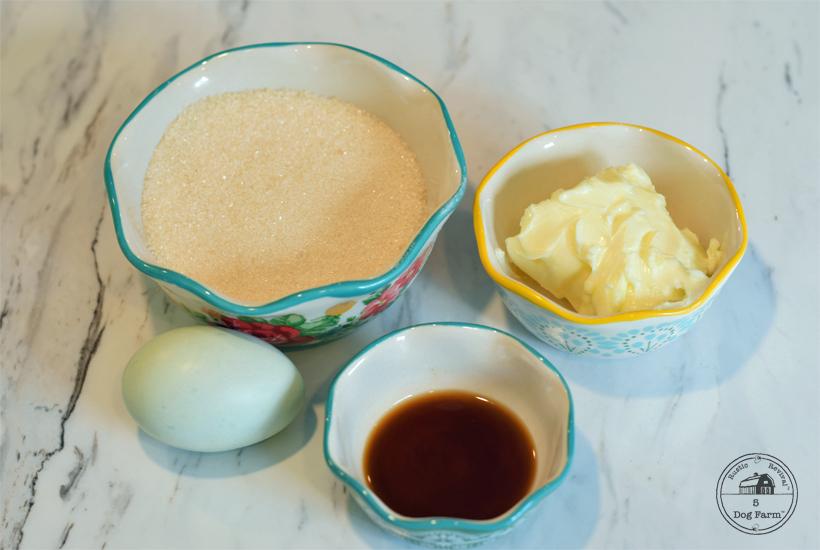 Shortcake ingredients 5DogFarm
