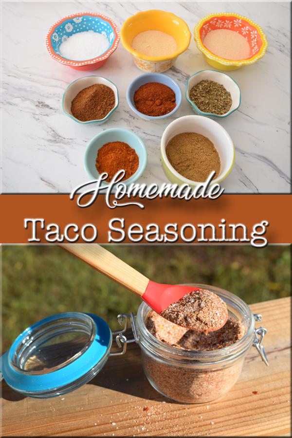 Simple Homemade Taco Seasoning