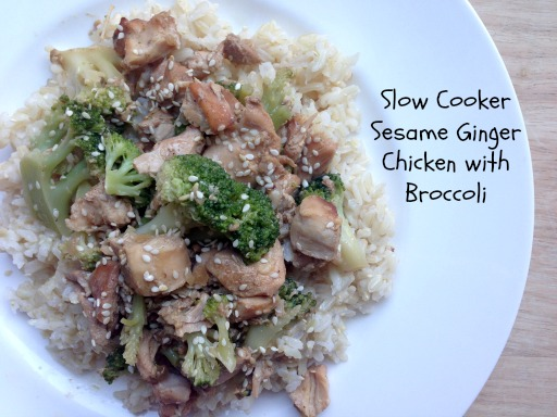 Slow Cooker Sesame Ginger Chicken Slow Cooker Sesame Ginger Chicken
