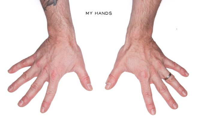 Andrew Claristidge Hands 5elect5