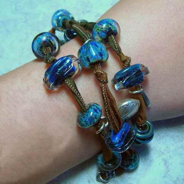 5 Fish Design - Handmade Fine Jewelry Lampwork & Sterling