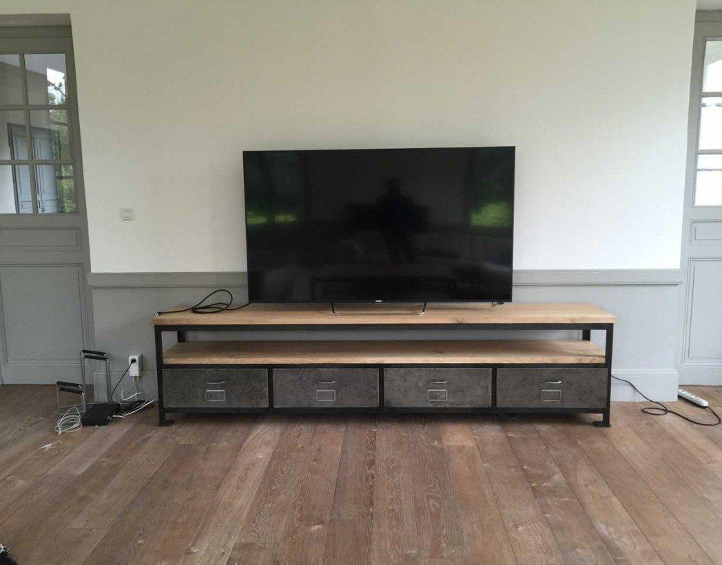 meuble tv industriel xxl creation