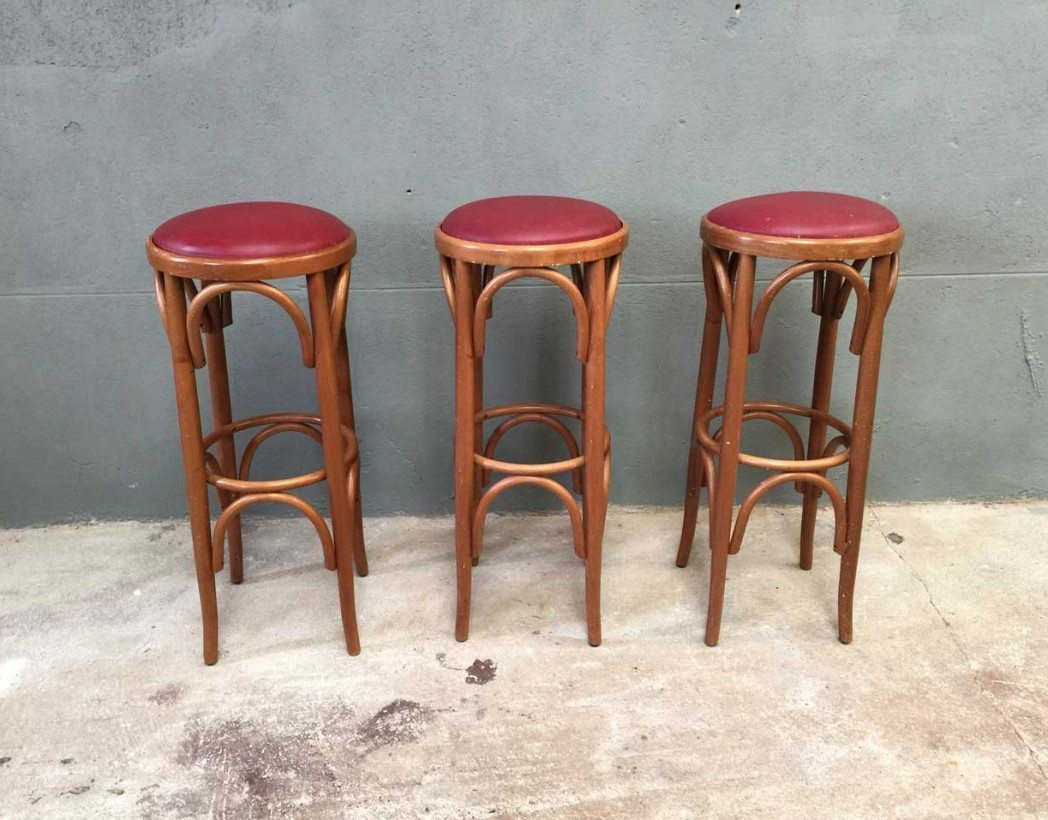 Ensemble De 3 Tabourets De Bar