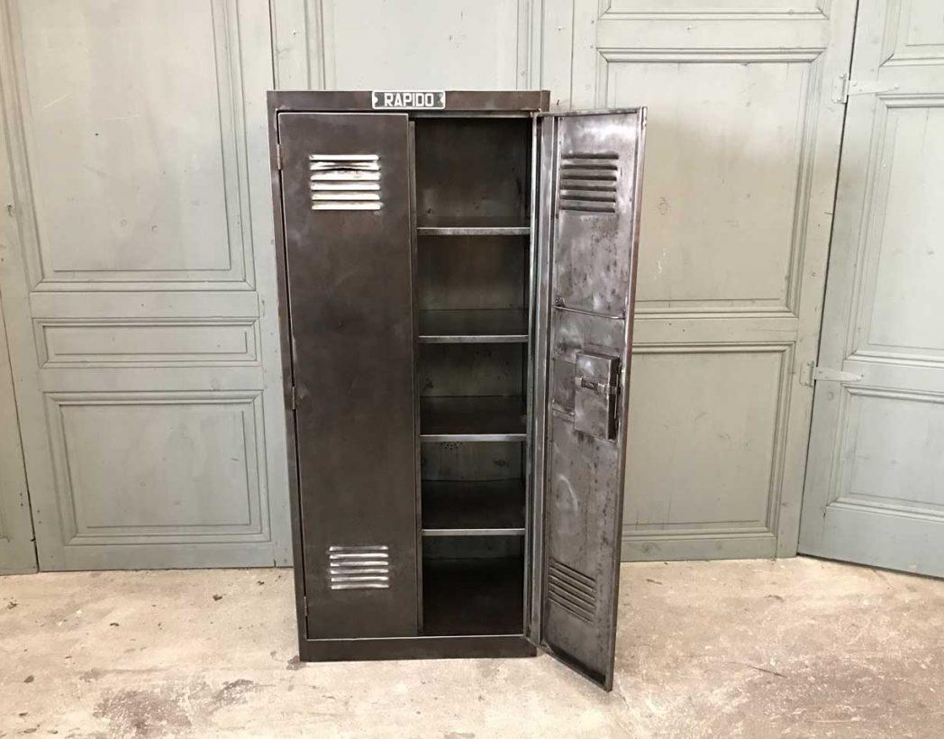vestiaire atelier metal decape mobilier industriel 5francs 2