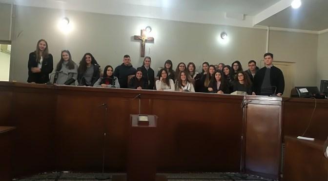 Διδακτική επίσκεψη στο Δικαστικό Μέγαρο Ηρακλείου