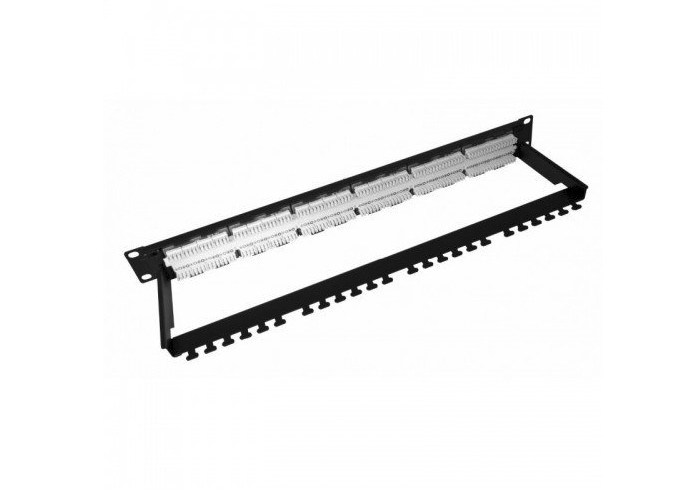 Cat6 Modular Network Patch Panel RJ45 To RJ45 With