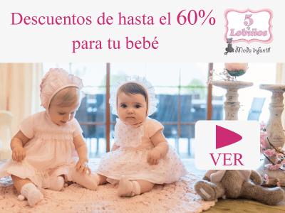 ropa barata de bebé en 5 lobiños moda infantil