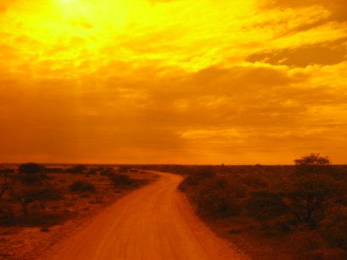 Sunset Etosha