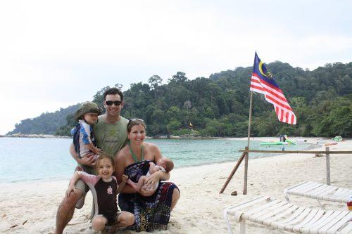 Malaysia family shot