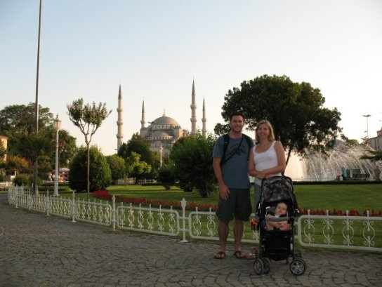 family in Turkey