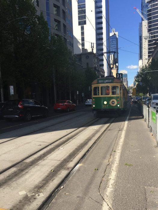 Circle Tram Melbourne