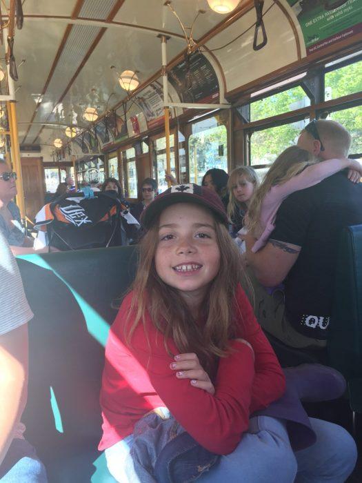 Circle Tram kid