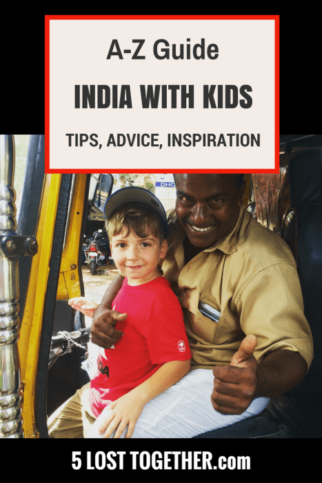 India with kids travel tips