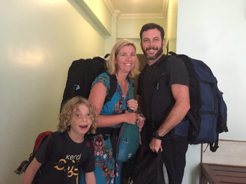 packing India with kids
