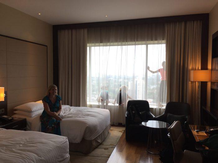 Kochi Marriott room