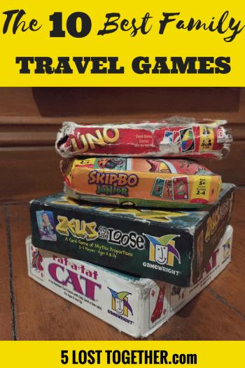 Best Family Travel games