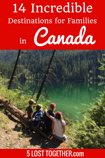 Trip to Canada with kids