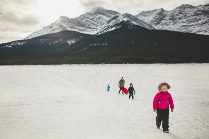 Canmore family holiday