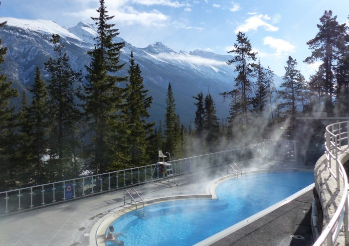 Hot Springs Banff