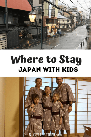 Where to Stay Japan with kids