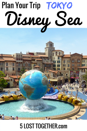 1 Day Itinerary for Disney Sea Tokyo
