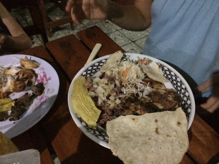what to eat Nicaragua