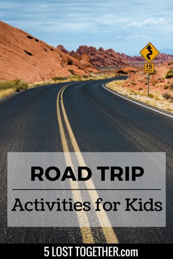 Road trip activities for kids