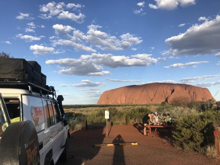 Uluru road trip