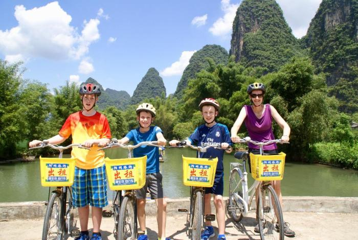 Cycling Yangshuo in China
