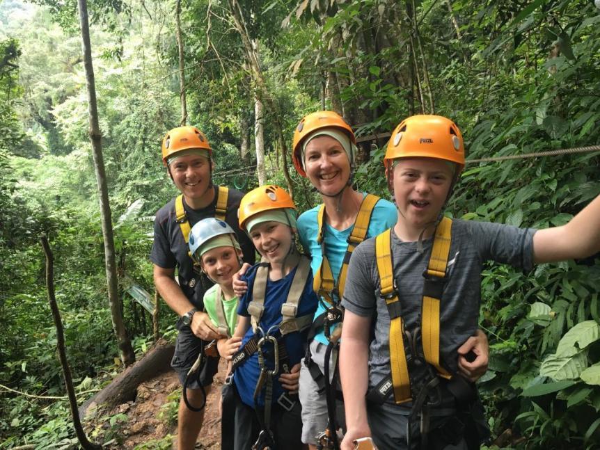 RTW travel with kids