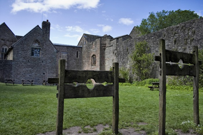 ST Briavels haunted castle