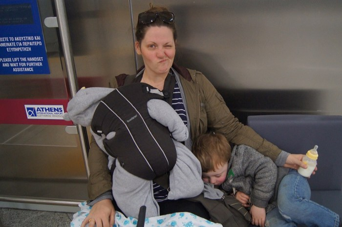 travelling on mat leave