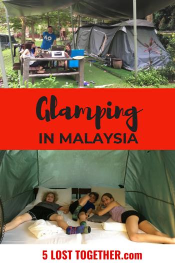 Glamping Lost World of Tambun Malaysia