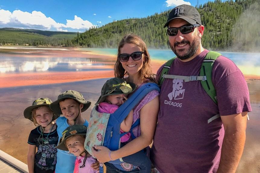 RV family travel