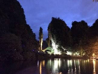 Lost World of Tambun by night