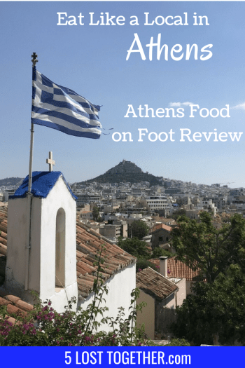 Athens Food tour with Athens Food on Foot