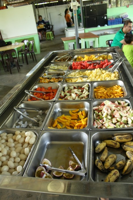 Penang fruit farm buffet