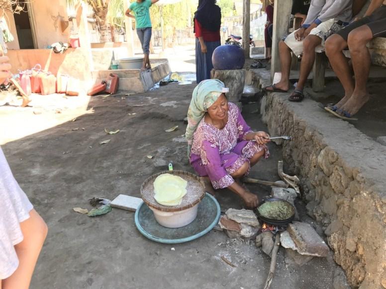 Fisherman village Mendang island