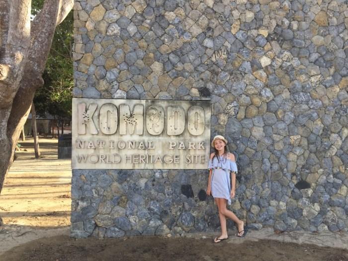 Komodo National Park with kids