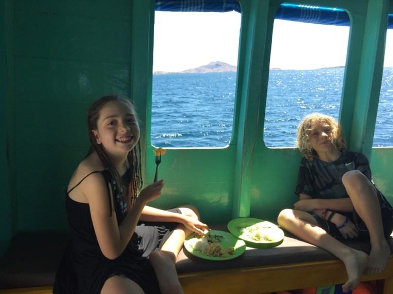 boat life Indonesia