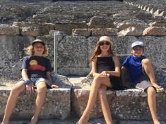 Epidavros with kids