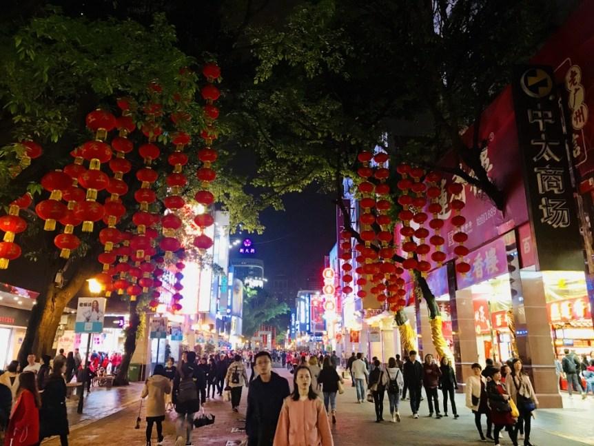 Guangzhou layover