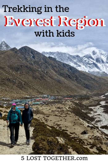 Trekking in Everest Region with kids