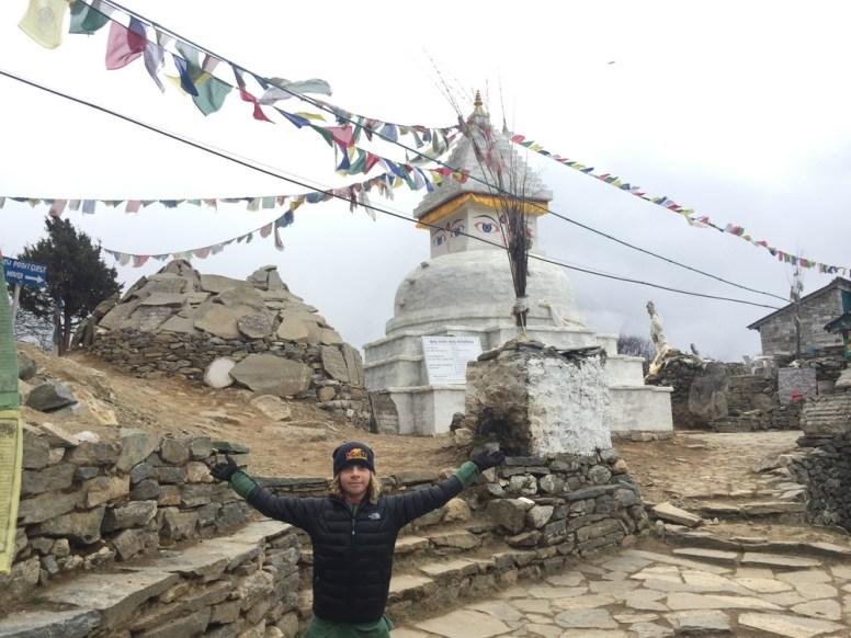 trekking in Nepal kids