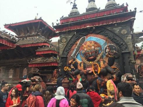 Hindu shrine Durbar Square