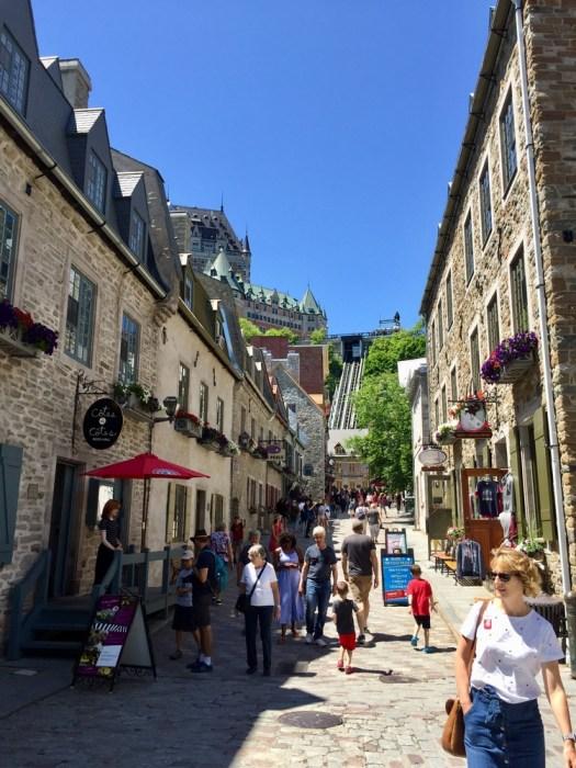 Quebec City in summer