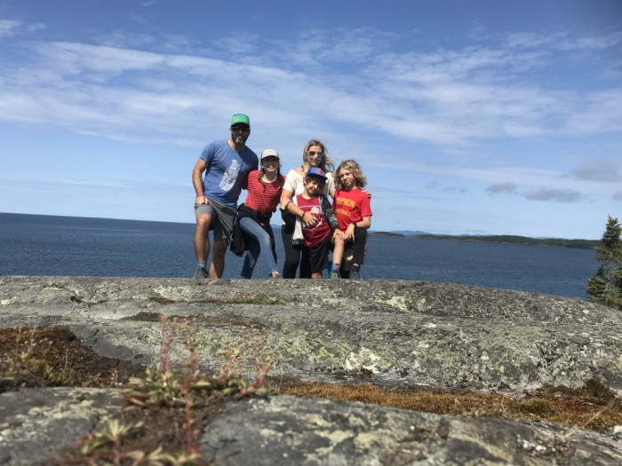 Pukaskwa family photo