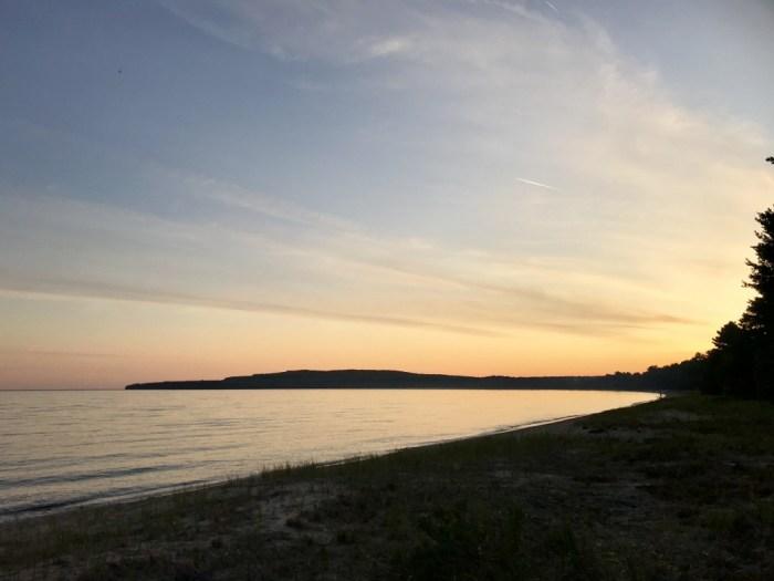 sunset Pancake Bay